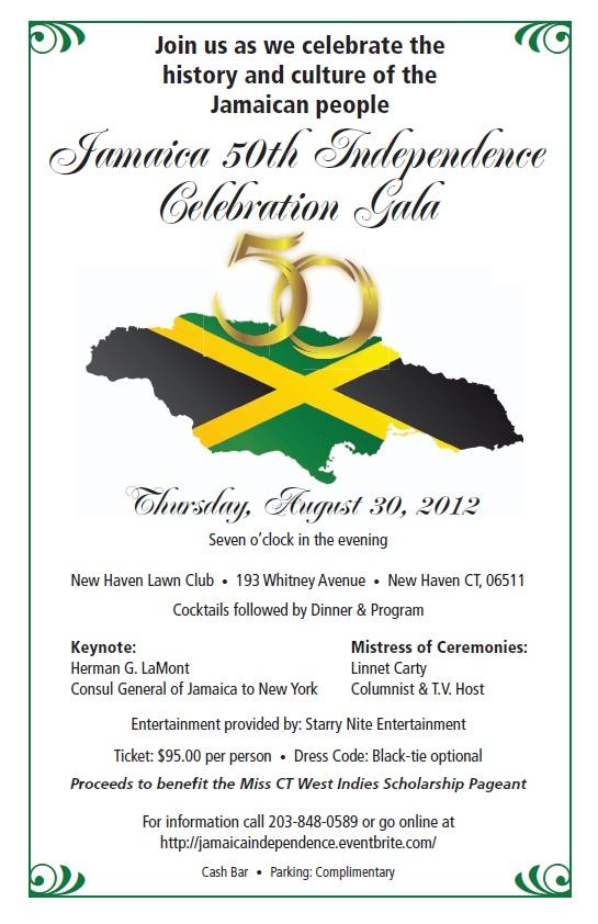 Jamaica 50th Independence Celebration