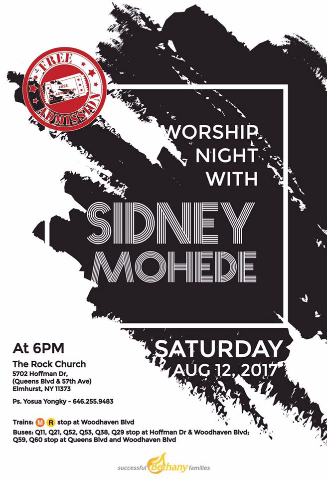 Worship Night With Sidney Mohede