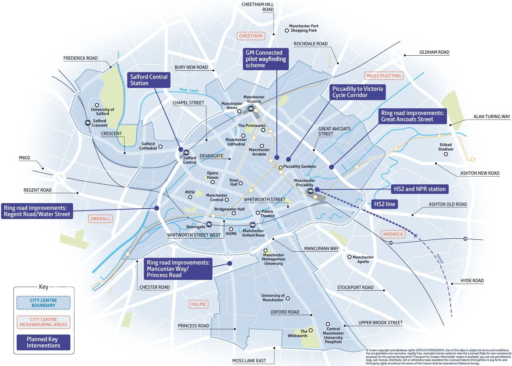 TfGM city-centre consultation image