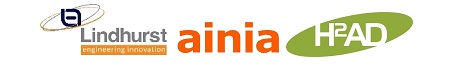 Lindhurst, Ainia & H2AD Logos