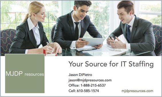 MJDP Resources Ad