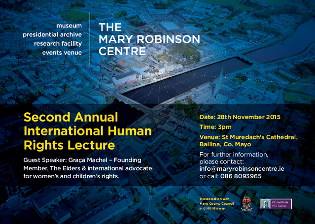 Second Annual International Human Rights Lecture