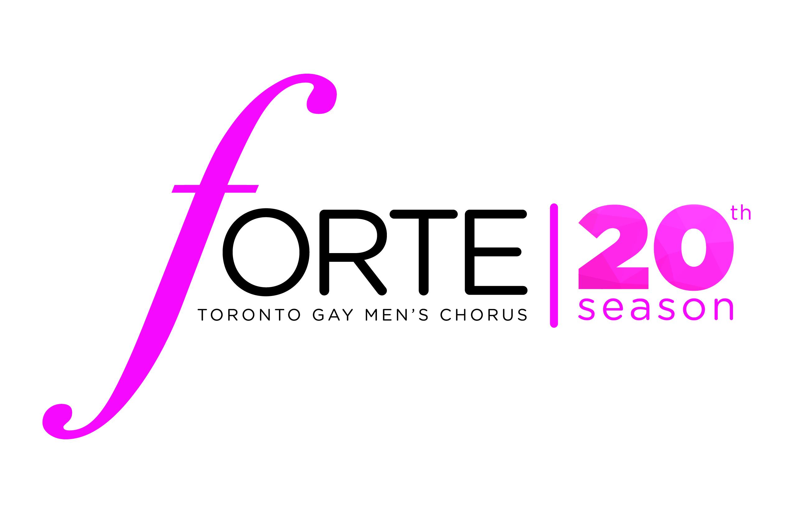 Forte 20th Anniversary Logo