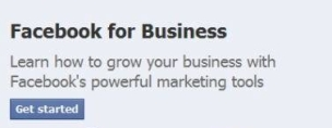 Facebook For Business Logo
