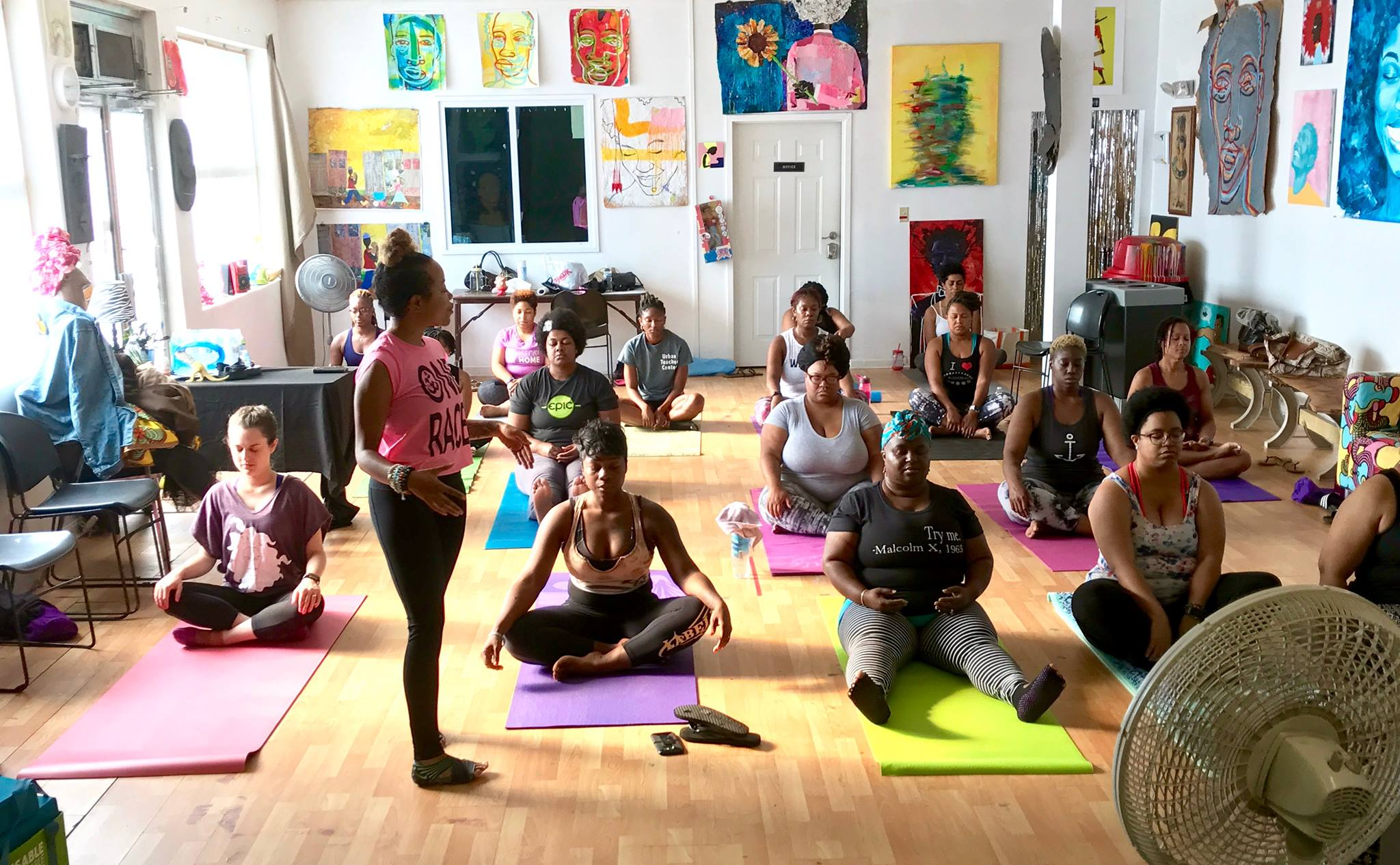 yoga class pic