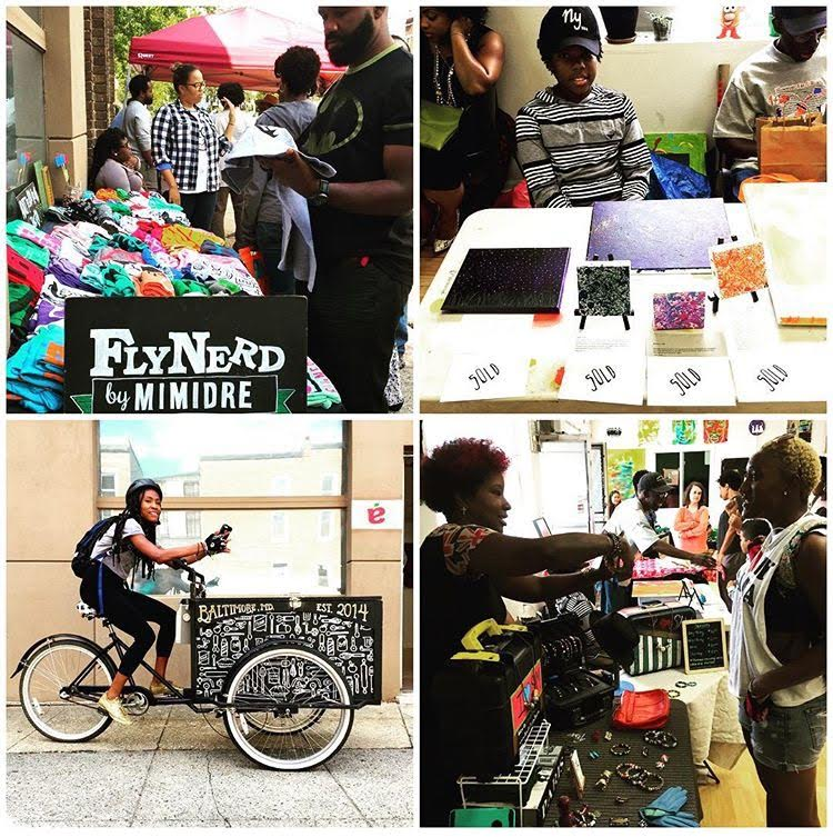 #theexchange popup marketplace: Summer Splash! @ exittheapple artspace | Baltimore | Maryland | United States