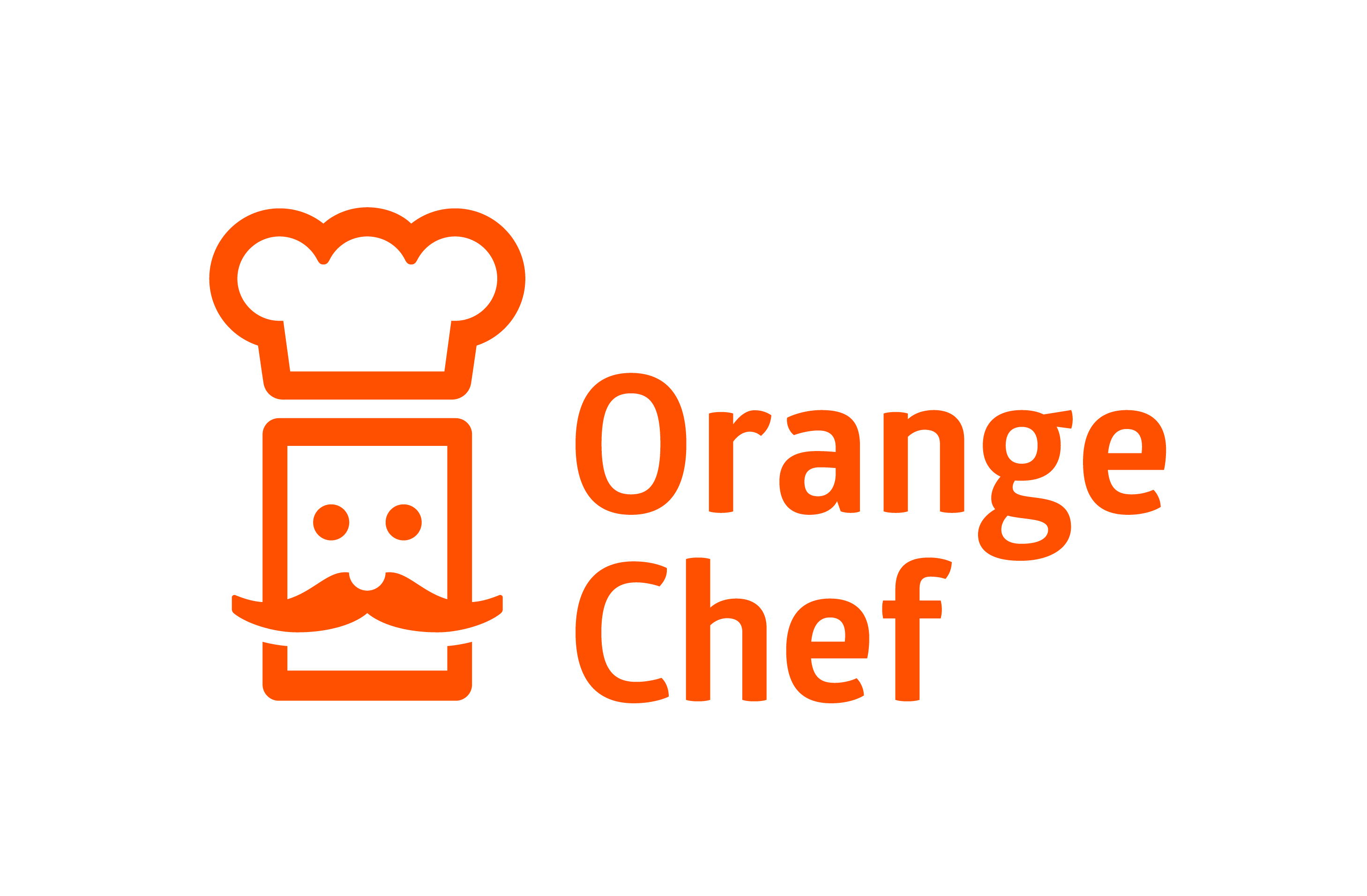 Orange Chef Logo