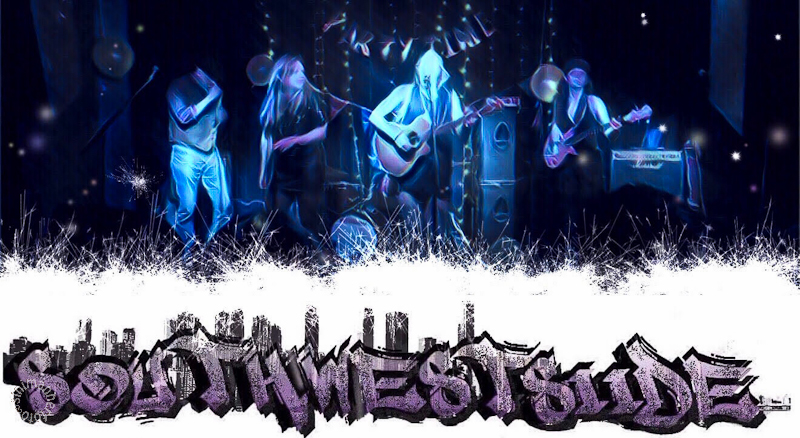 Image of Brighton band Southwestsiide, a fusion of blues, funk, ska and old school hip hop.