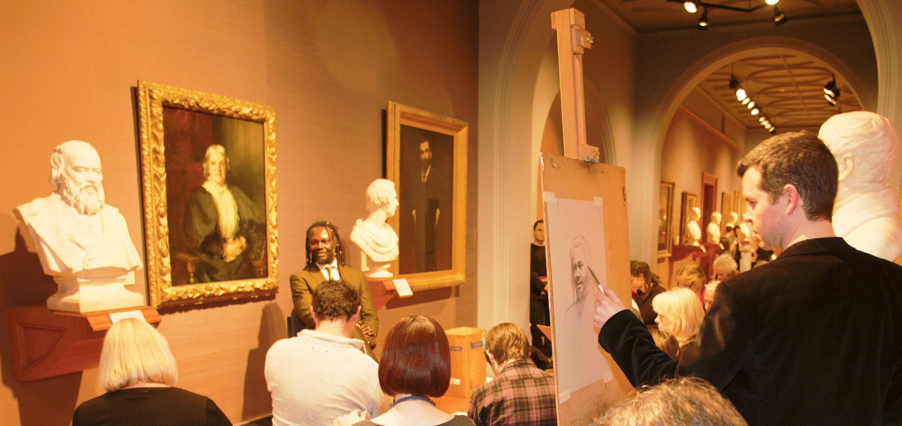 Come Draw With Me, National Portrait Gallery, 2011