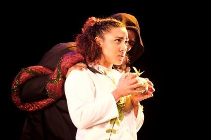 Lucifer tempts Eve