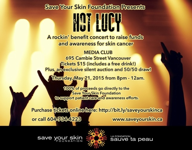 Hot Lucy Benefit for Save Your Skin Foundation