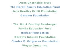 Education additional sponsors