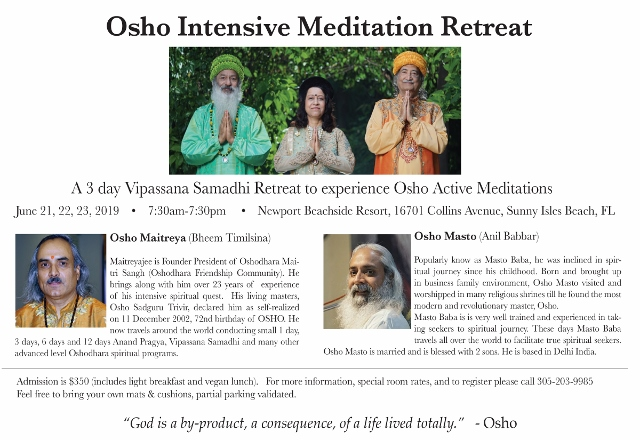 Osho Meditation Retreat