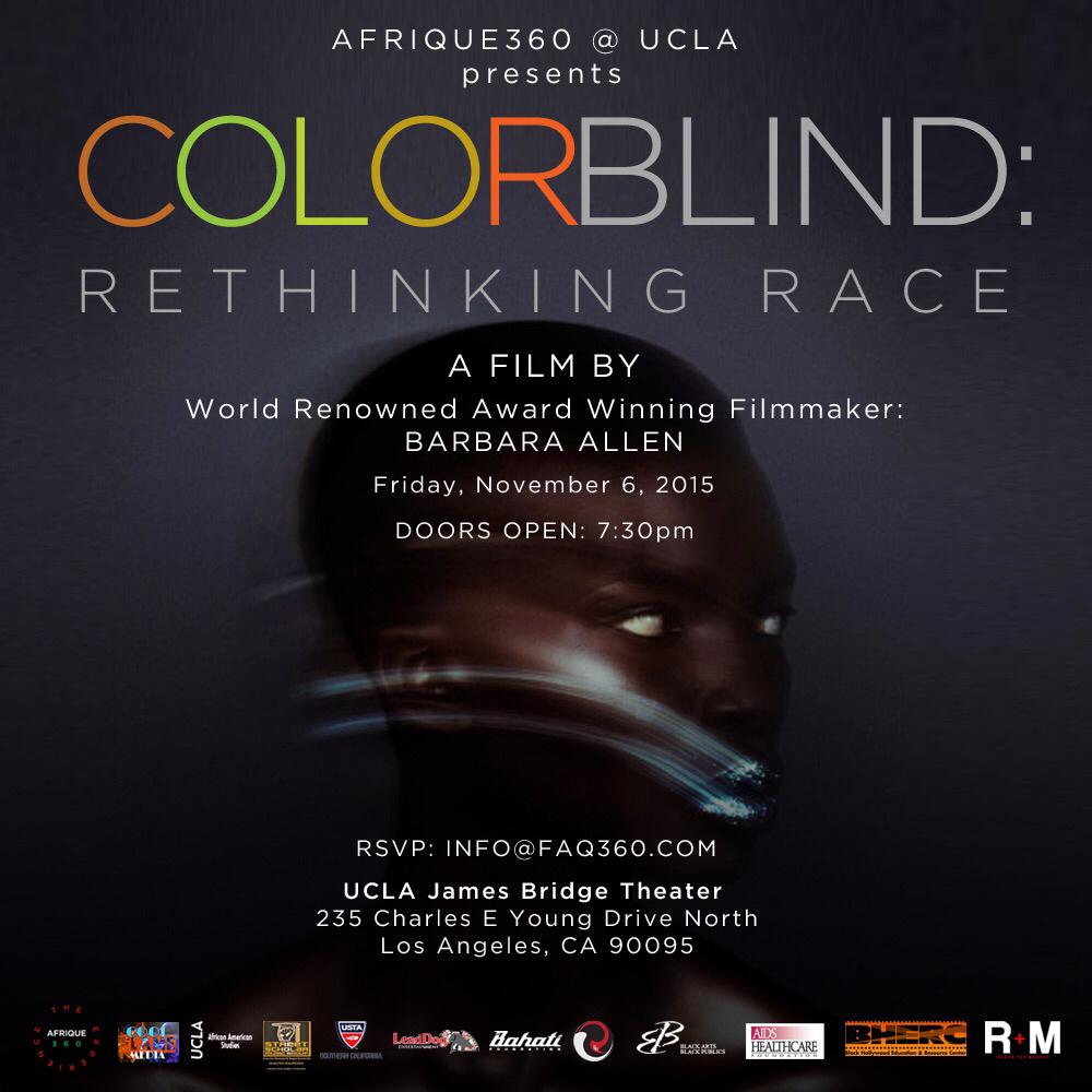Color Blind Flyer