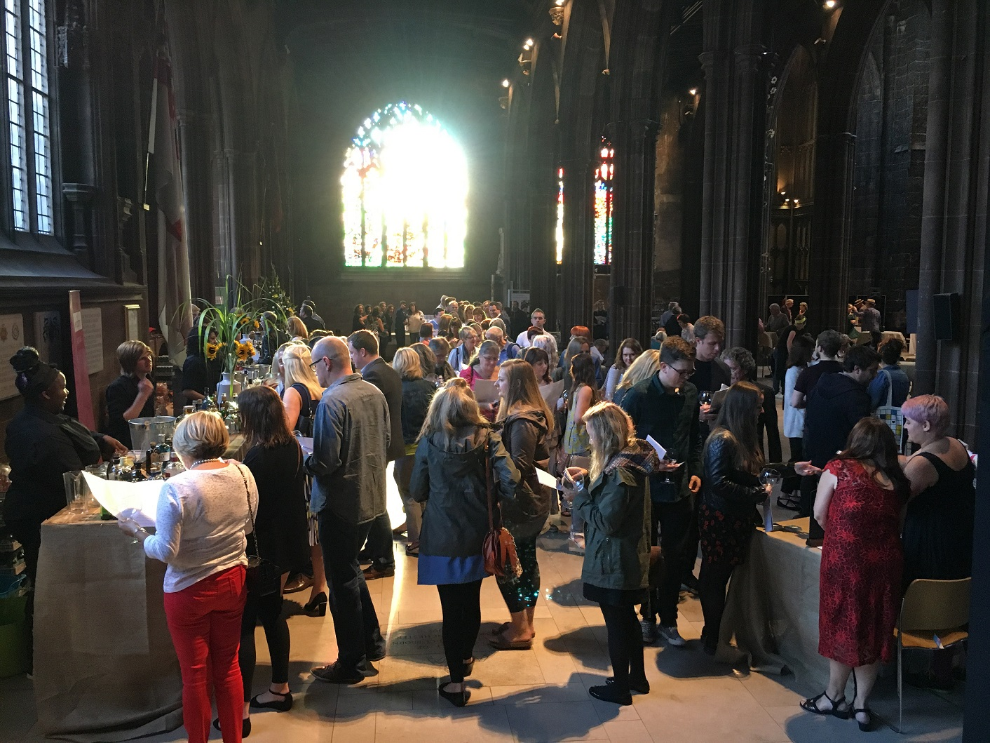 gin at manchester cathedral
