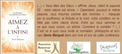 Aimez à l'infini - conférence Montpellier