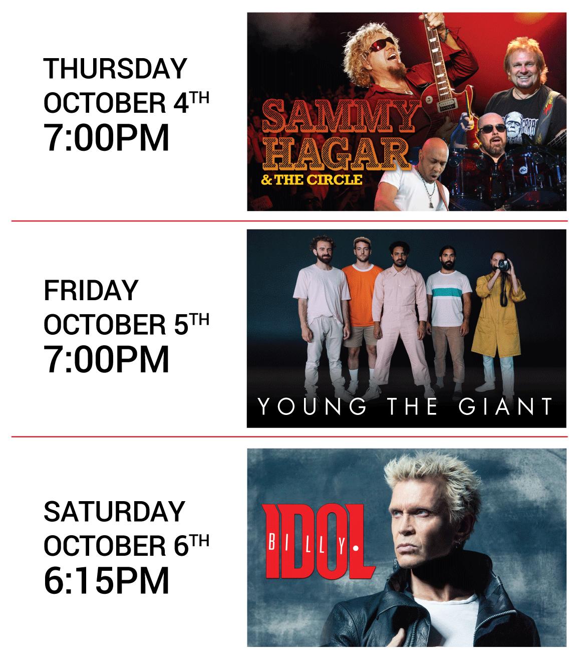 Safeway Open Concert Series