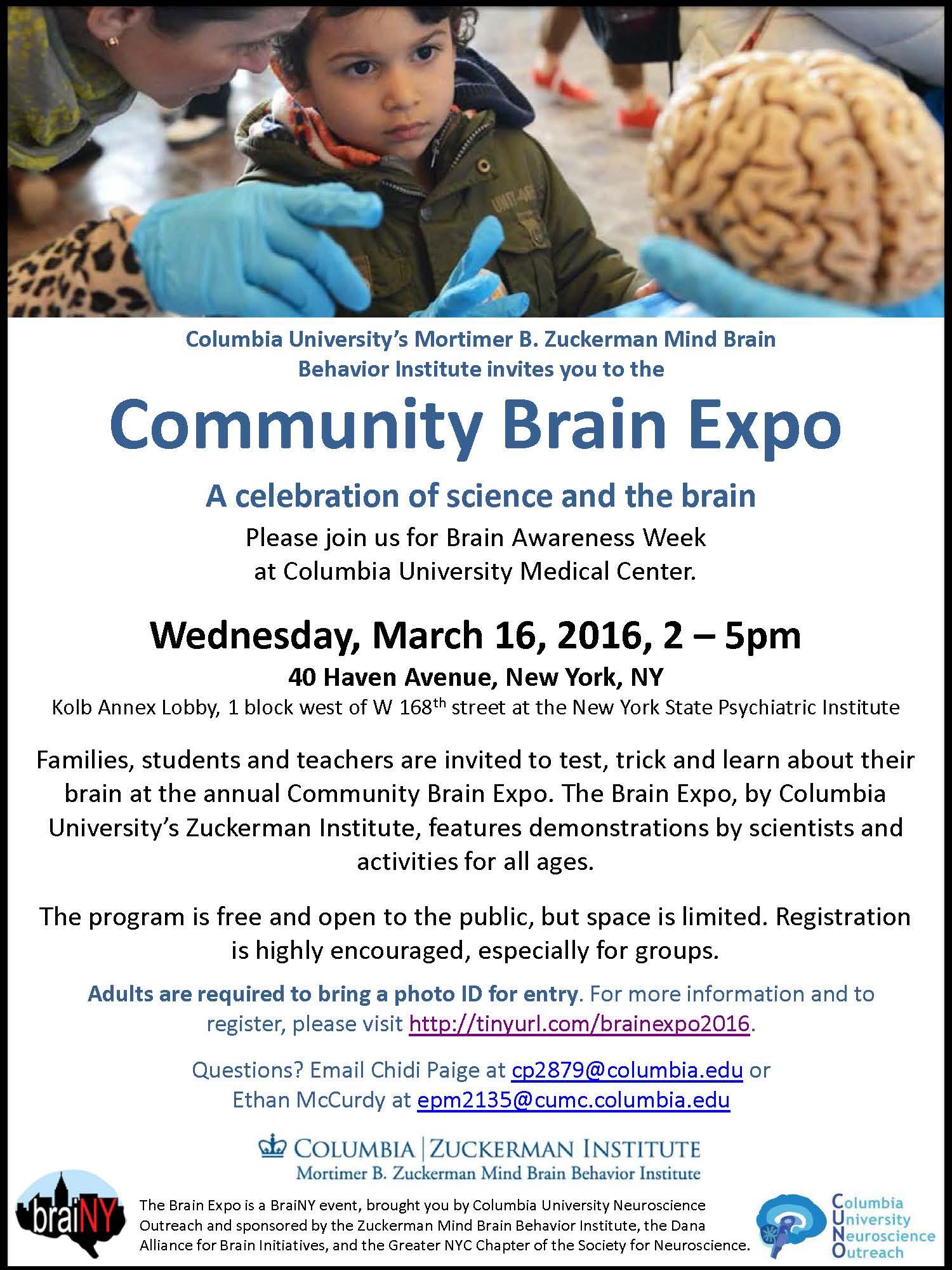 Brain Expo 2016 Flyer