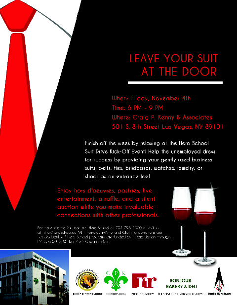 [Leave Your Suit at the Door Flyer]