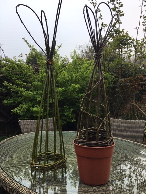 Miniture Willow Obelisk