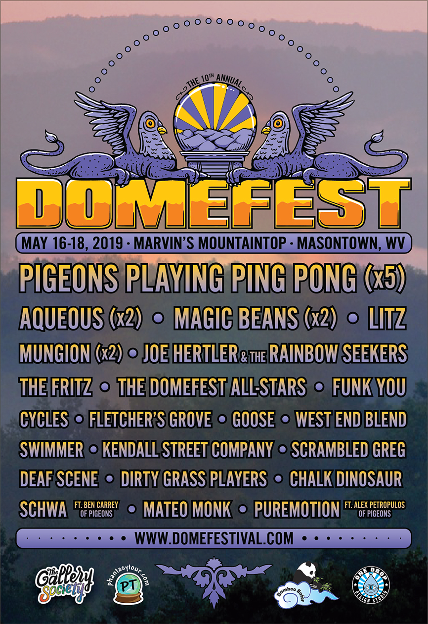 Domefest 2019 Lineup