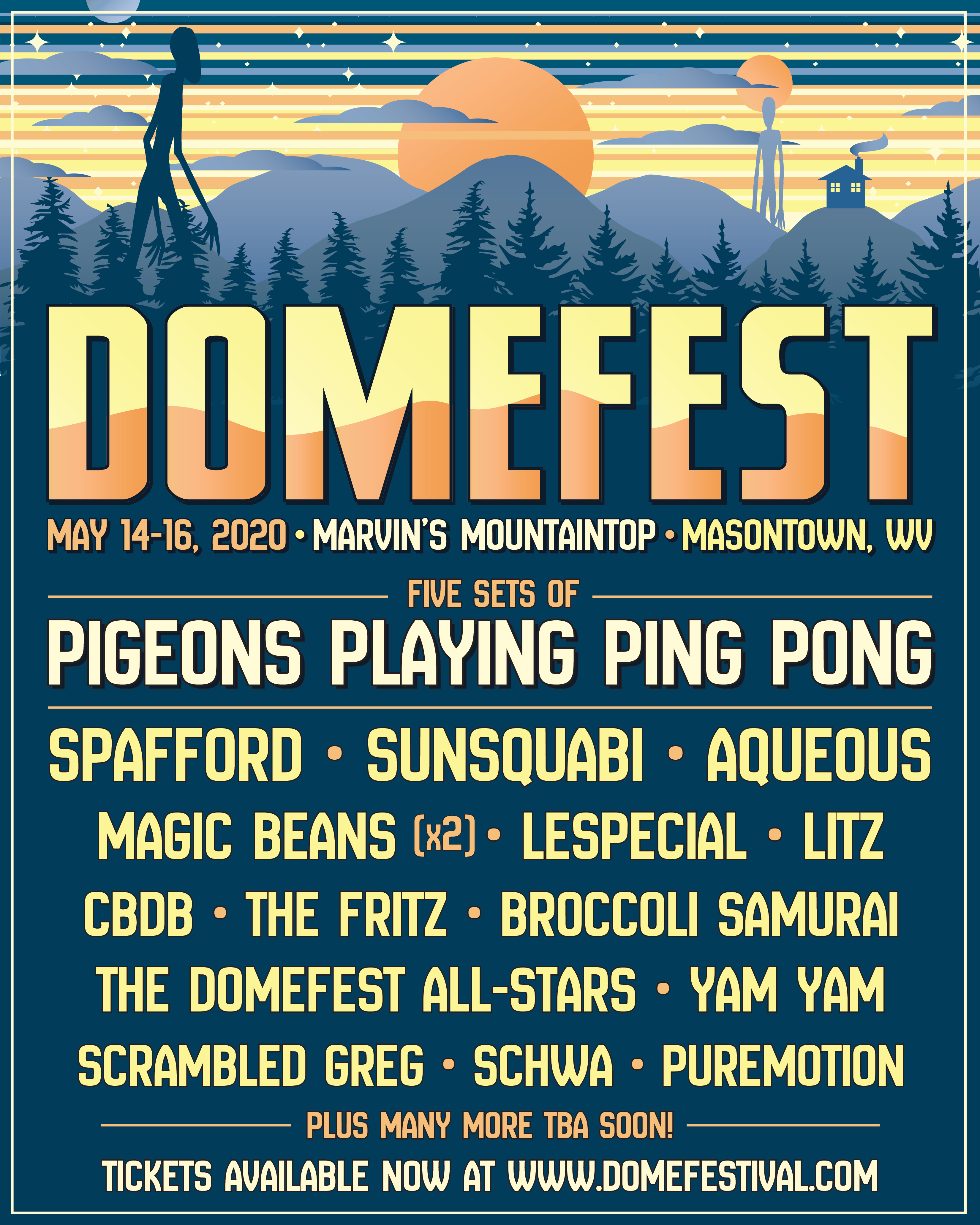 Domefest 2020 Initial Lineup