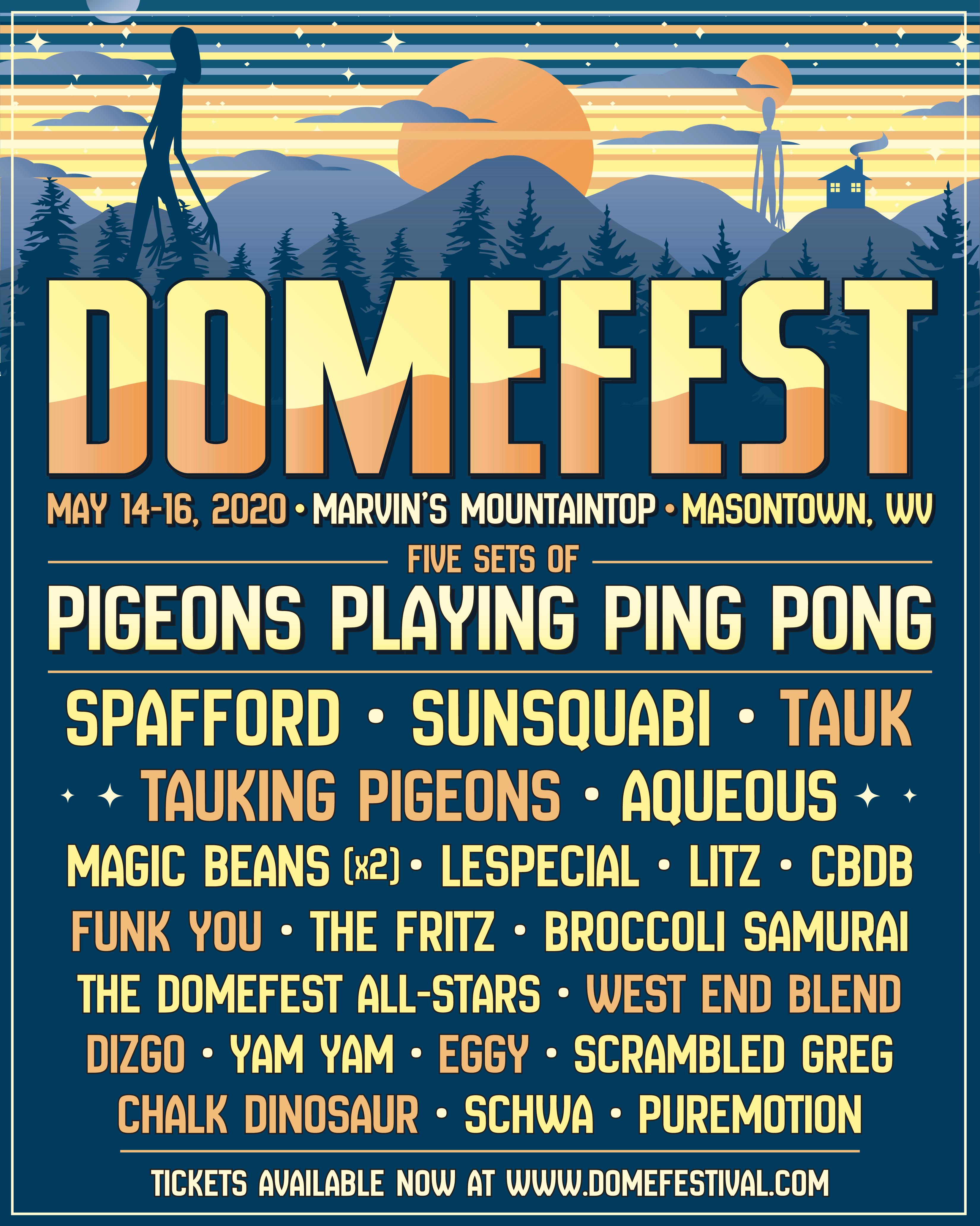 Domefest 2020 Final Lineup