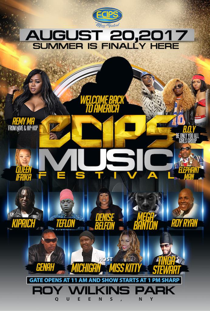 ECIPS Music Festival Lineup
