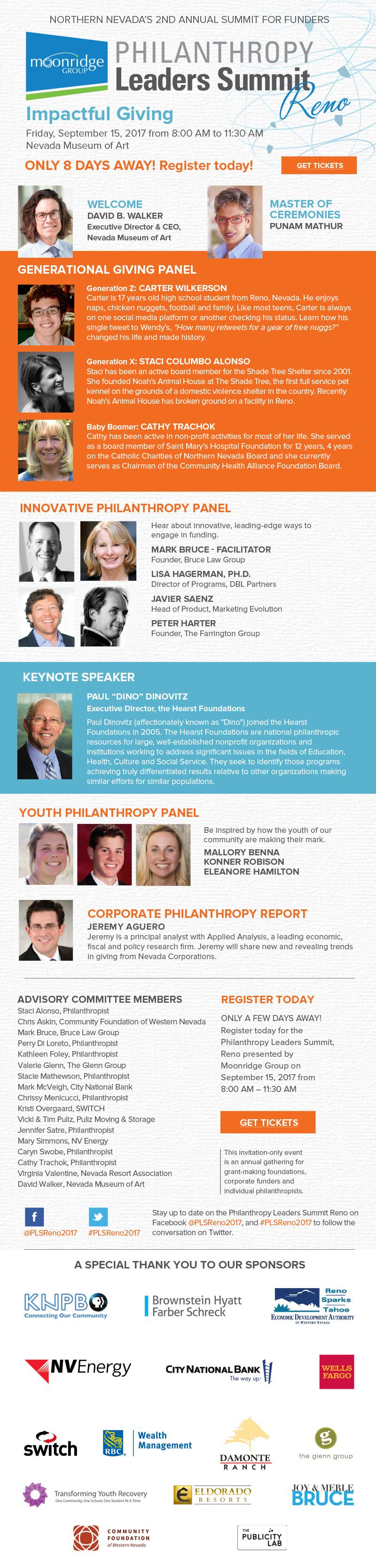 Philanthropy Leaders Summit Reno