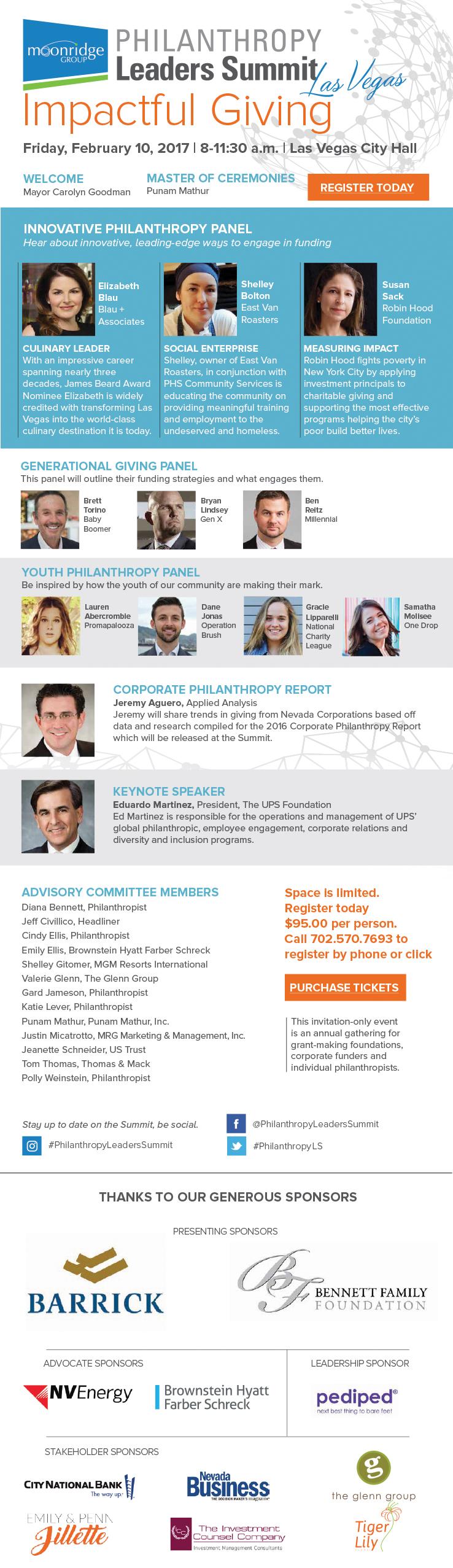 Philanthropy Leaders Summit 2017