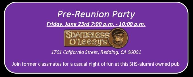 Friday get-together at Shameless O'Leery's