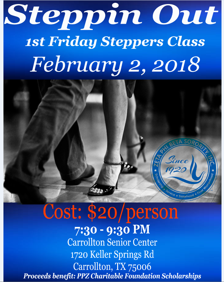 Steppers Flyer