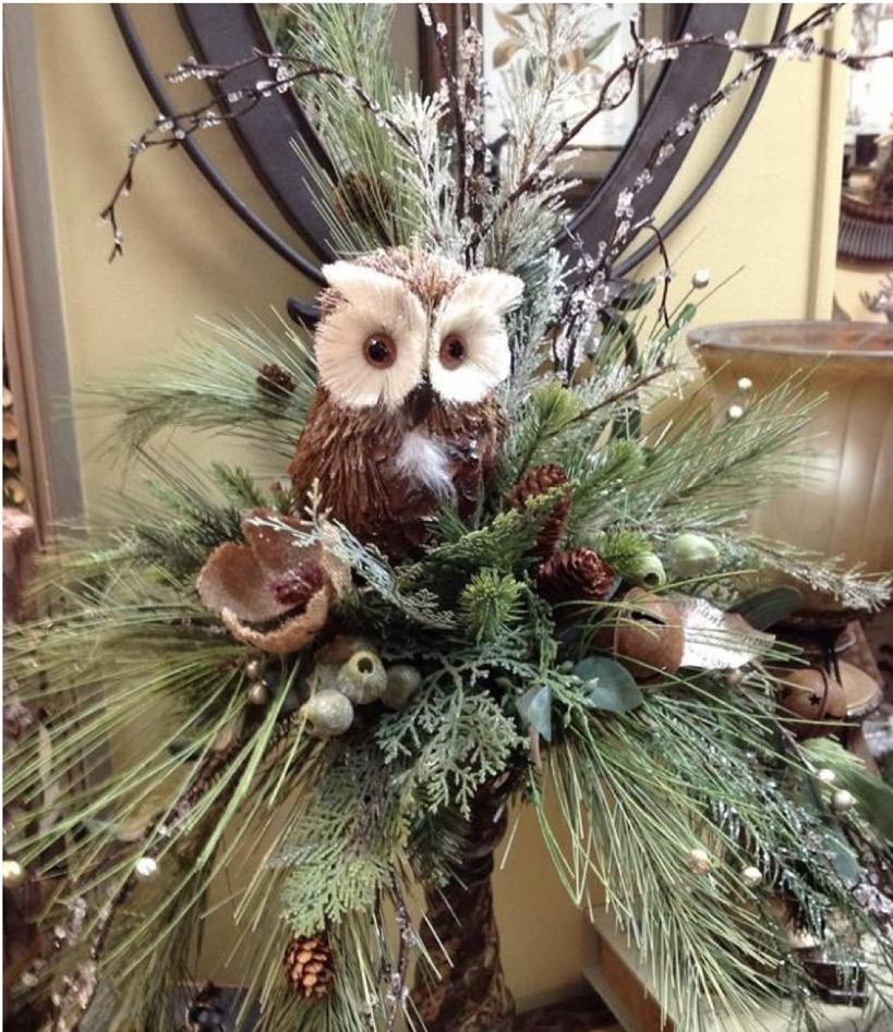Owl Centerpiece