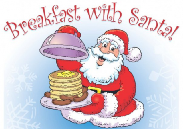 Breakfat with Santa