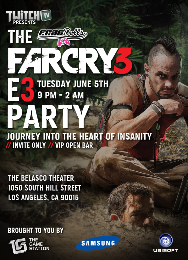Far Cry E3 Party Invite GA