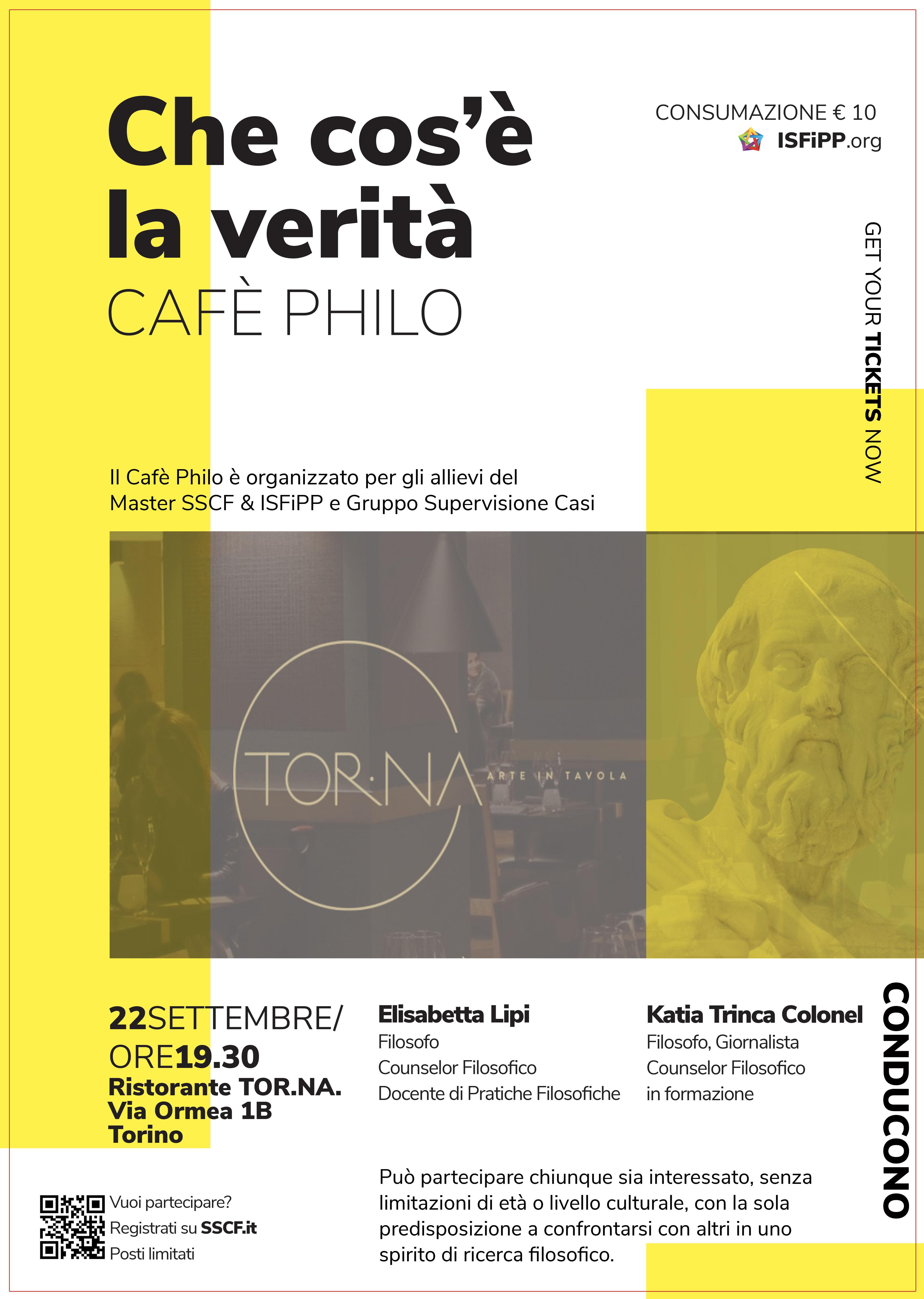 Caffè Philo Settembre 2018