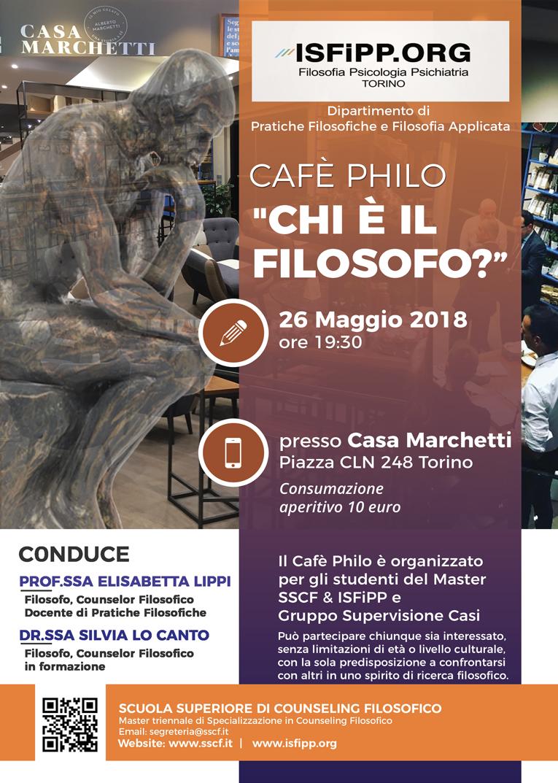 cafe philo a Torino, Chi è il Filosofo