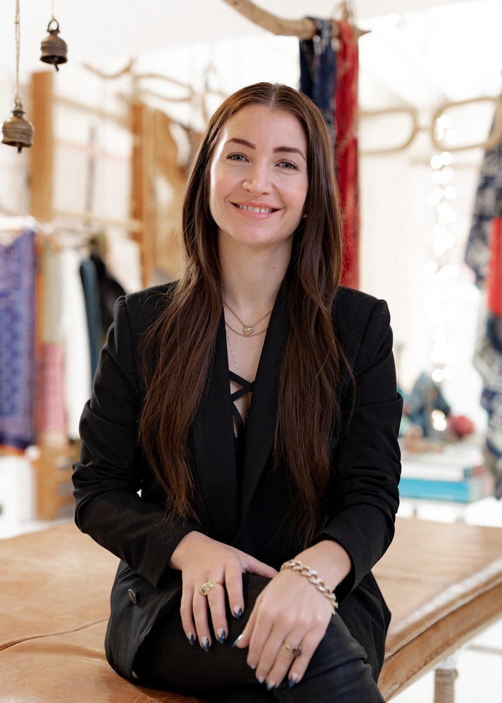 Blair Lauren Brown in her office