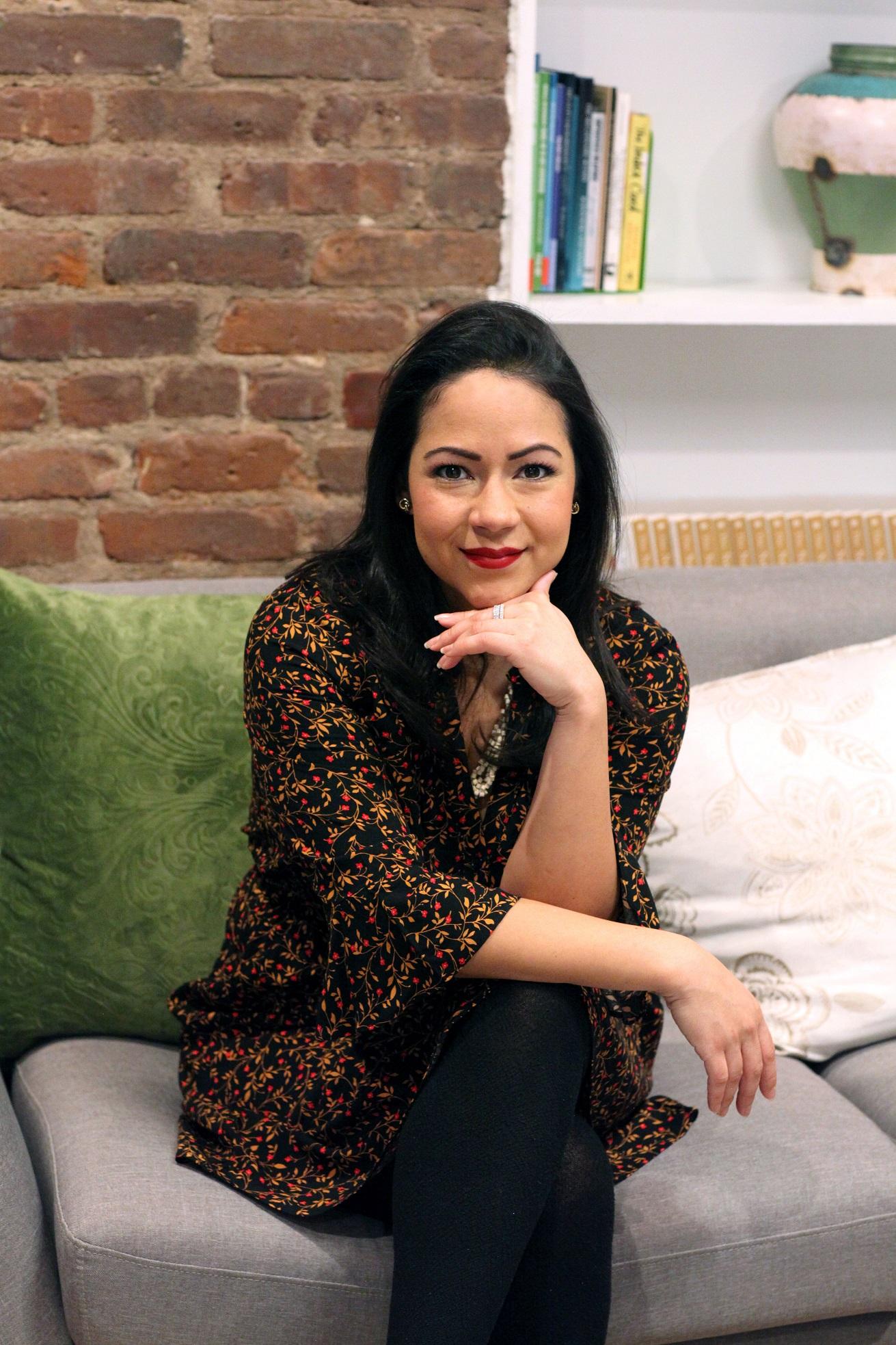 Yai Vargas in her office
