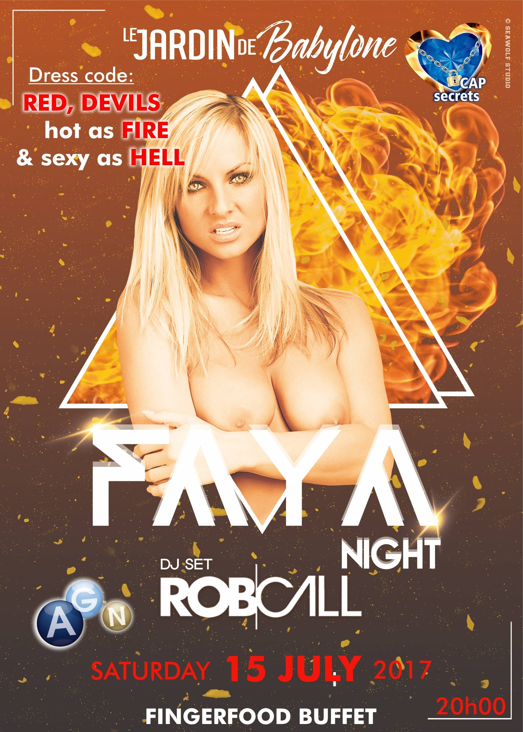 FAYA PARTY 15 JUILLET / JULY