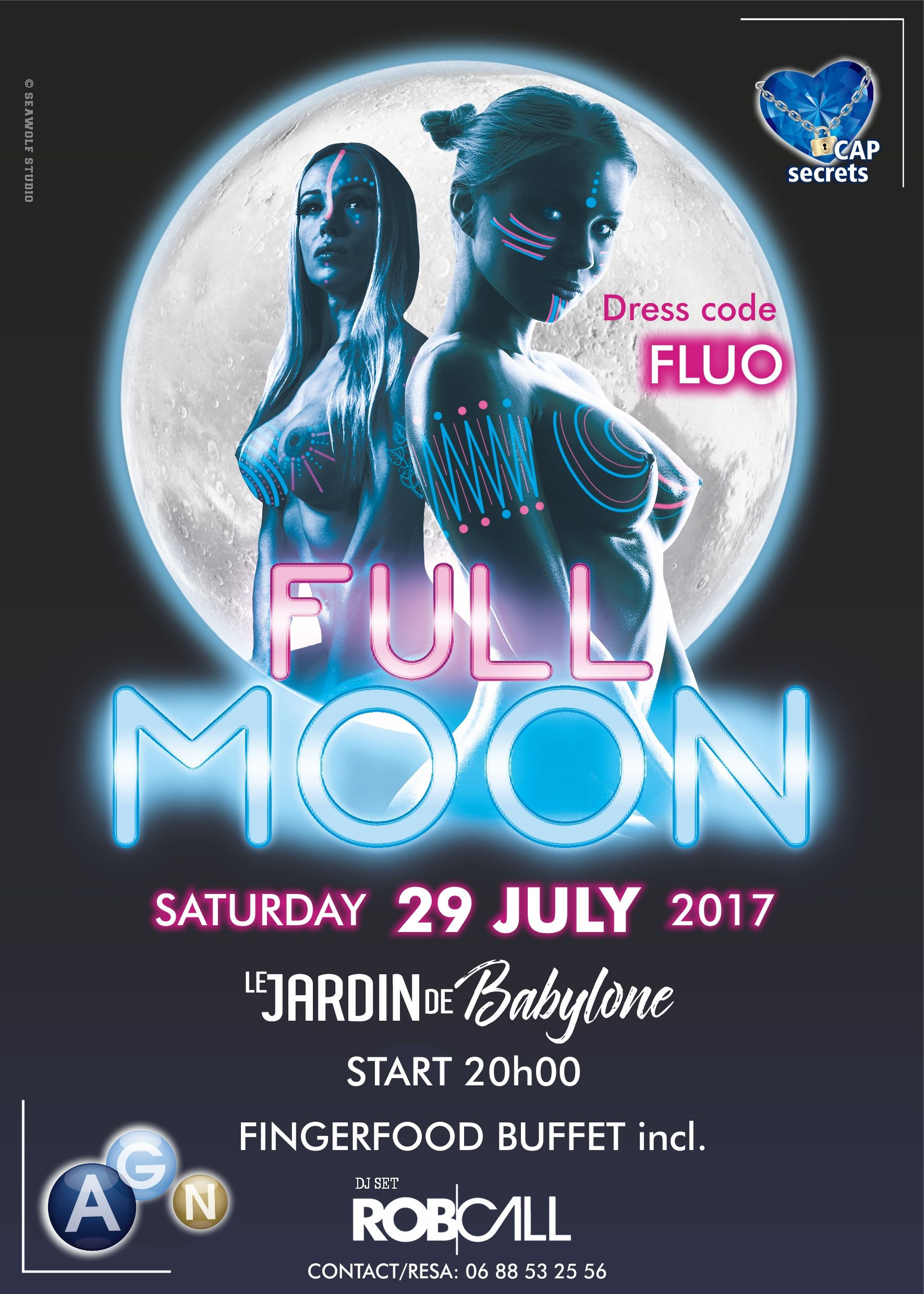 FULLMOON PARTY 29 JUILLET / JULY