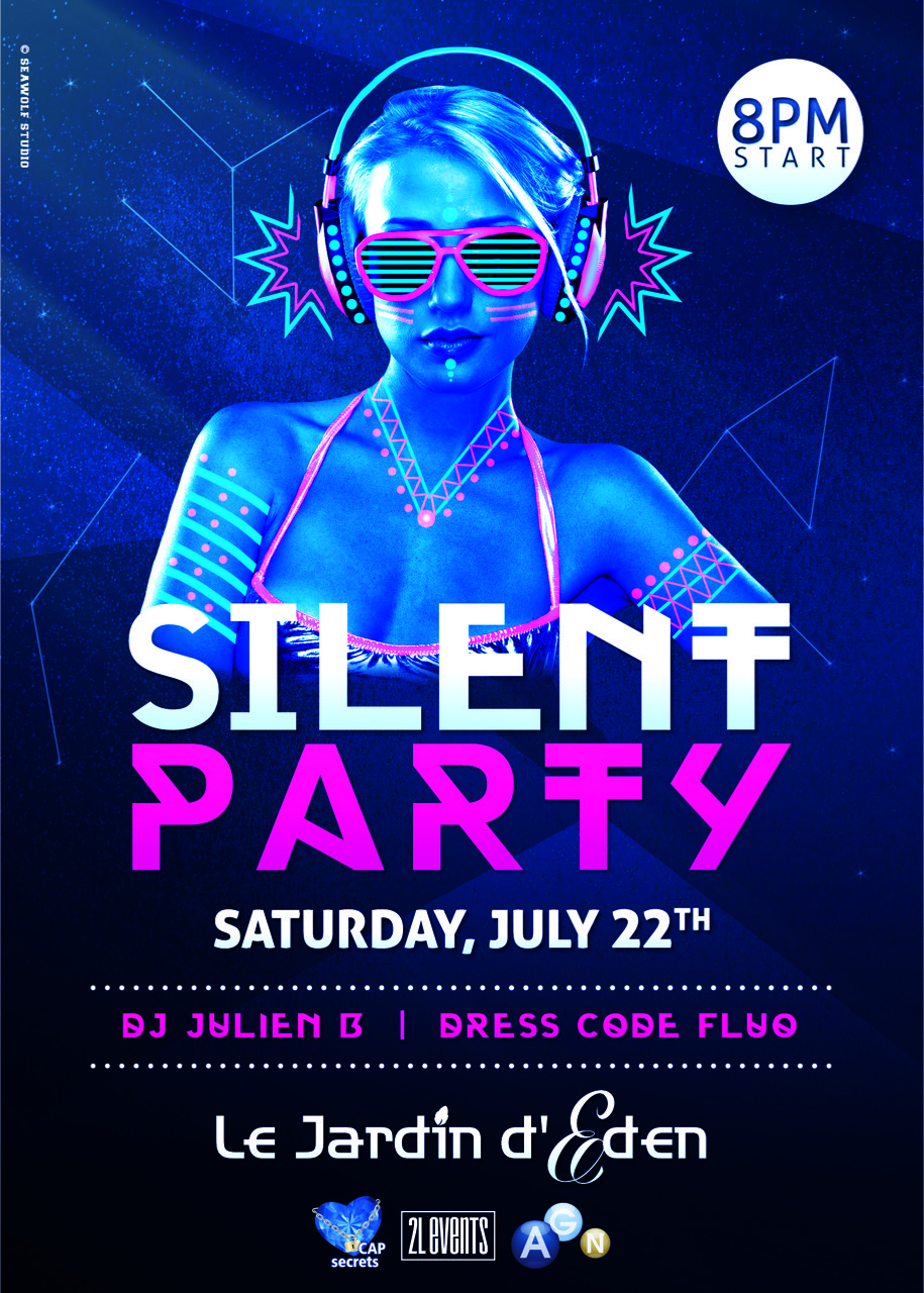 SILENT PARTY 22 JULY 2017