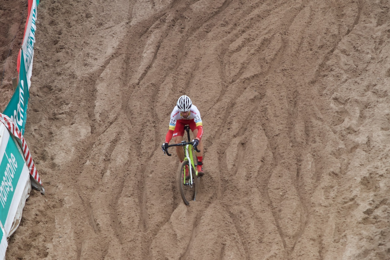 Brian Matter in Zonhoven Belgium - Photo credit Dan Seaton-Velonews