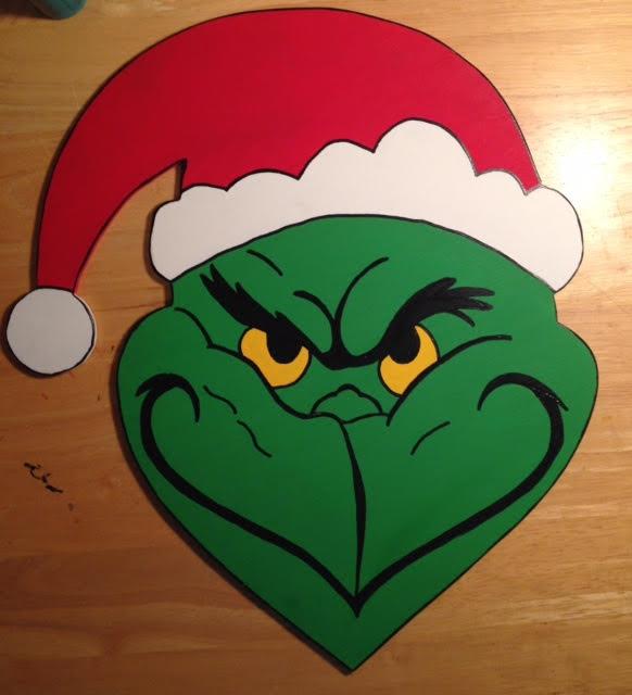 Grinch Door Hanger