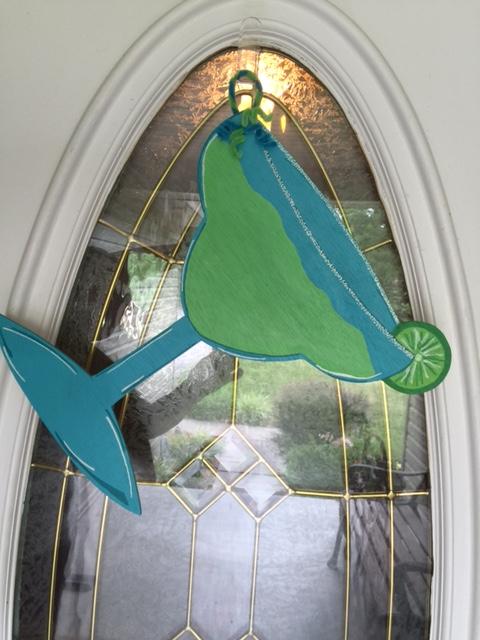 Margarita Door Hanger