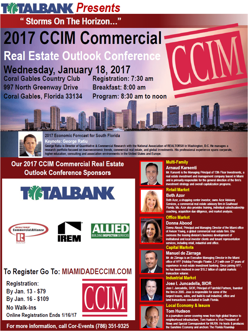 2017 CCIM Commercial Real Estate Outlook Conference