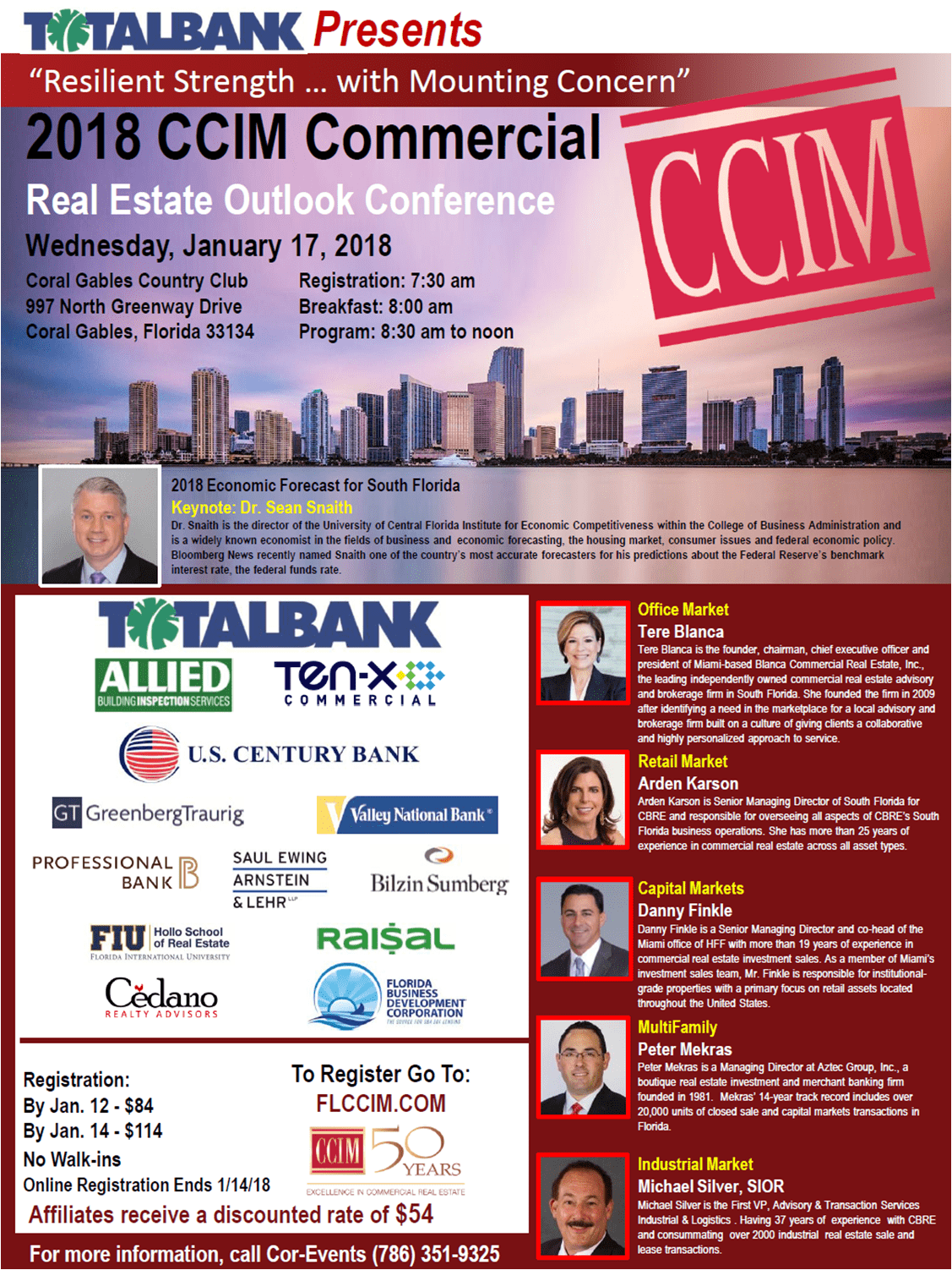 2018 CCIM Commercial Real Estate Outlook Conference