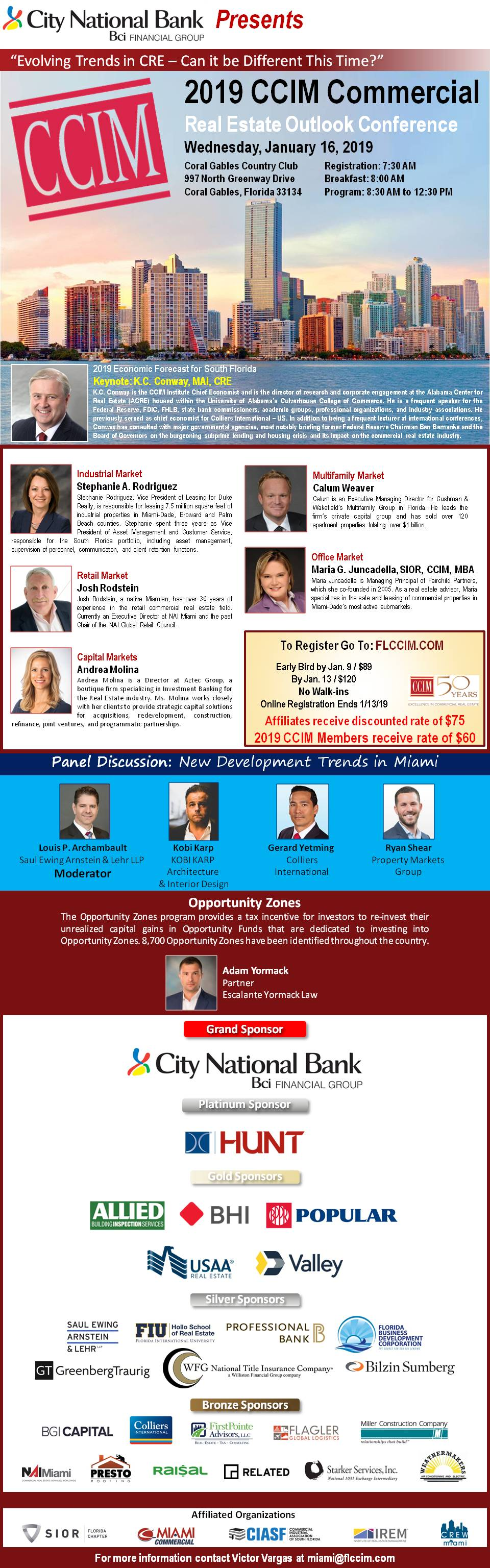 2019 CCIM Commercial Real Estate Outlook Conference