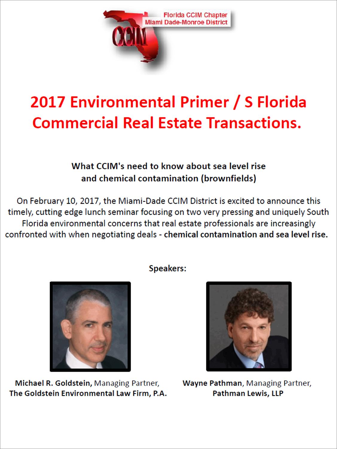 CCIM Miami District February Luncheon
