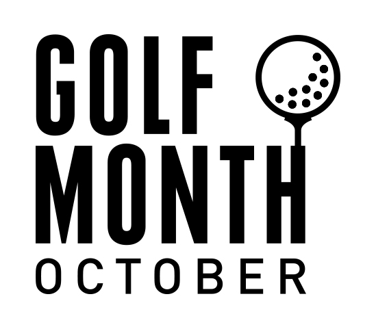 Golf Month Logo